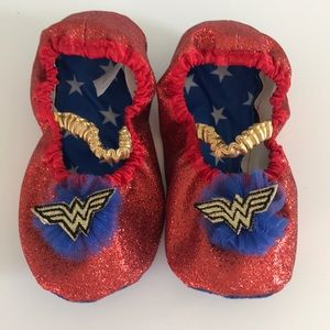 Other - Wonder Woman slip ons NWOT